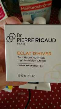 Dr Pierre Ricaud - Eclat d'Hiver - Soin haute nutrition