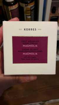 KORRES - Crème de nuit pour première rides Magnolia