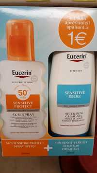 Eucerin - Sun coffret spray protection  SPF 50+ & after sun