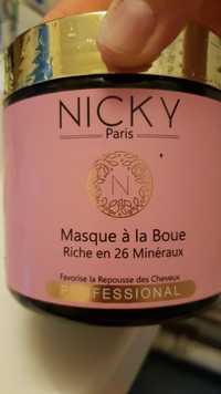 NICKY - Masque à la boue