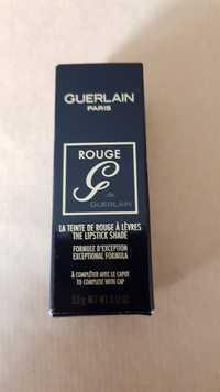 GUERLAIN - Rouge de Guerlain - La teinte de rouge à lèvres