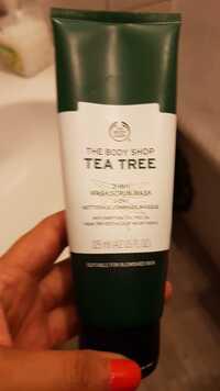 THE BODY SHOP - Tea tree - Nettoyage, gommage, masque 3 en 1