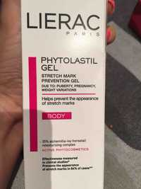 Liérac - Phytolastil gel - Stretch mark prevention gel