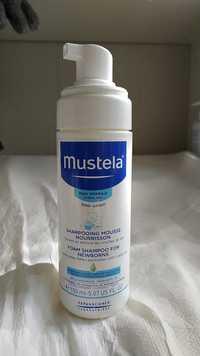 Mustela - Bébé-enfant - Shampooing mousse nourrisson