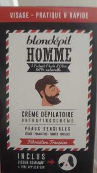 BLONDÉPIL - Homme - Crème dépilatoire