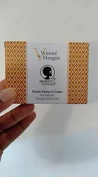 NOIRE Ô NATUREL - Savon visage et corps - Velouté de Mangue