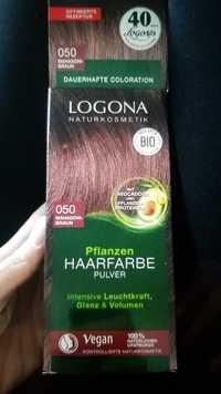 Logona - Pflanzen-haarfarbe pulver 050 mahagoni-braun