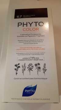 Phyto - Phyto color - Coloration permanente 6.7 blonde foncé marron