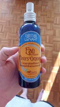 CHRISTIAN LÉNART - Eau aromatisée au fleur d'oranger