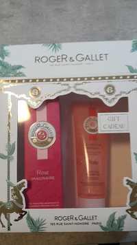 Roger & Gallet - Rose imaginaire - Eau parfumée, gel douche