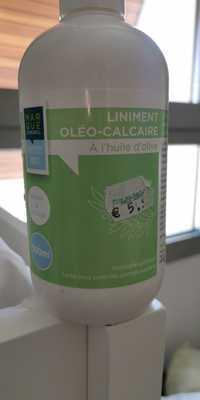 MARQUE CONSEIL - Liniment oléo-calcaire à l'huile d'olive