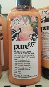 PURE 97 - Rose sauvage & baobab - Après-shampooing volume