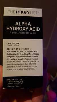 The inkey list - Alpha hydroxy acid - Sérum