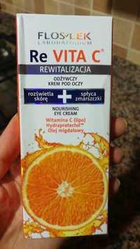 Flos Lek - Re vita C - Nourishing eye cream