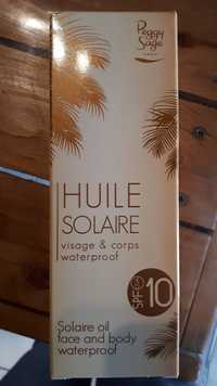 Peggy Sage - Huile solaire SPF 10