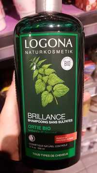 Logona - Shampooing brillance à l'ortie bio