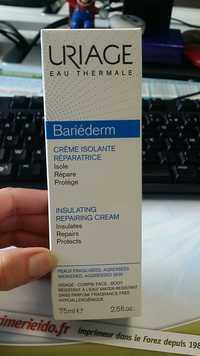 Uriage - Bariéderm - Crème isolante réparatrice