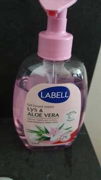 LABELL - Lys & Aloe Vera - Gel lavant mains
