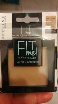 Maybelline - Fit Me - Poudre ton sur ton matifiante 220 beige naturel