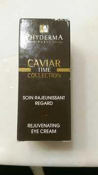 Phyderma Paris - Caviar time collection - Soin rajeunissant regard