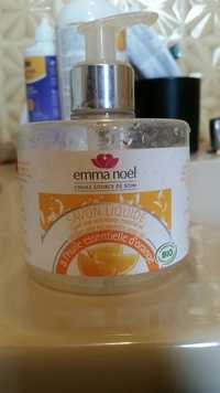 EMMA NOËL - Savon liquide bio à l'huile essentielle d'orange