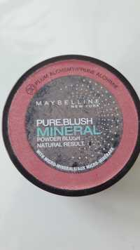 Maybelline - Pure blush mineral 30 prune alchimie