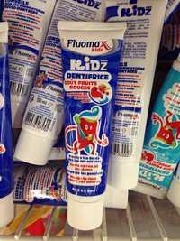 FLUOMAX - Kids dentifrice goût fruits rouges