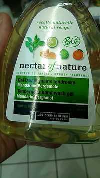 Les Cosmétiques Design Paris - Nectar of nature - Gel lavant mains tendresse