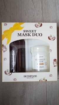 SKINFOOD - Sweet mask duo set