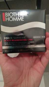 Biotherm - Force suprême - Black regenerating care