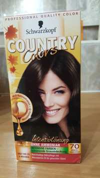 Schwarzkopf - Country colors 70 brazil dunkelbraun