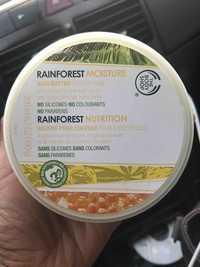 The Body Shop - Rainforest nutrition - Beurre pour cheveux