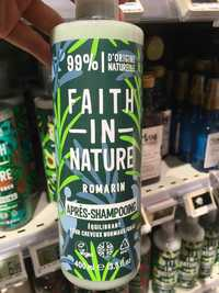 FAITH IN NATURE - Romarin - Après-shampooing