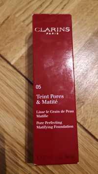 CLARINS - 05 Teint pores & matité - Lisse le grain de peau matifie