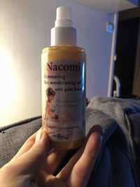 NACOMI - Sunny - Shimmering tan acceleratin oil with gold flakes