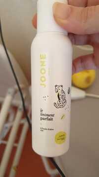 JOONE - Le liniment parfait à l'huile d'olive siège