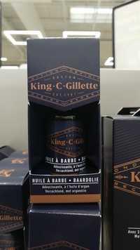 KING C GILLETTE - Baardolie - Huile à barbe