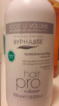 BYPHASSE - Hair pro volume - Après-shampooing