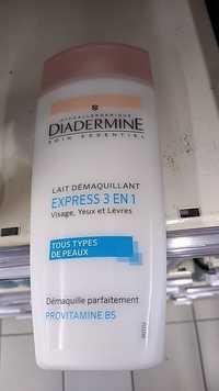 DIADERMINE - Express 3 en 1 - Lait démaquillant