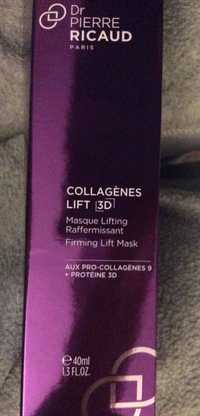 Dr Pierre Ricaud - Collagènes lift 3D - Masque lifting raffermissant