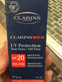 Clarins - Clarins men - UV protection non gras SPF 20