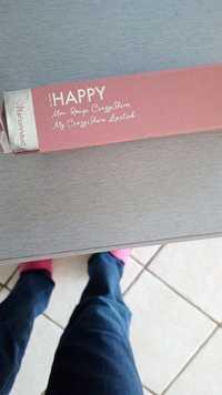MARIONNAUD - Make me Happy - My crazyshine lipstick 01 soft beige