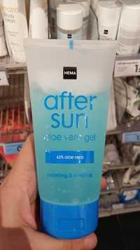 Hema - After sun aloe vera gel