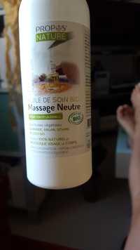 PROPOS'NATURE - Huile de soin bio - Massage neutre