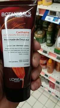 L'Oréal - Botanicals Fresh care - Carthame infusion richesse - Pommade de douceur