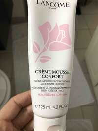 Lancôme - Crème-mousse réconfortante à l'extrait de rose