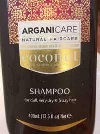 ARGANICARE - Natural haircare - Coconut shampoo