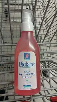 BIOLANE - Eau de toilette fraîcheur