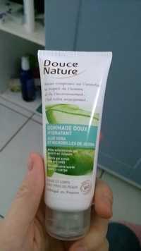 Douce Nature - Gommage doux hydratant - Aloe vera et microbilles de jojoba