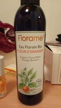FLORAME - Eau florale d'oranger bio